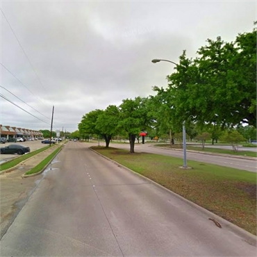View of W Oates Rd passing near La Prada Family Dentistry Garland TX 75043