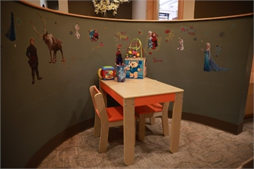 Kids area at Renton Smile Dentistry
