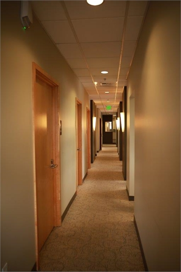 Hallway at Renton dentist Renton Smile Dentistry
