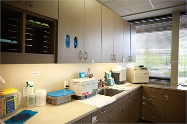 Sterilization area at Renton dentist Renton Smile Dentistry