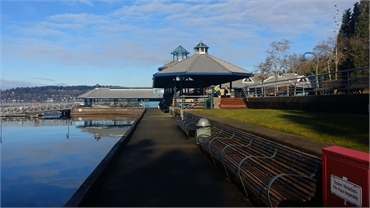 Gene Coulon Memorial Beach Park at 12 minutes drive to the northeast of Renton dentist Renton Smile