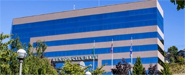 Renton City Hall 5 minutes drive to the northeast of Renton Smile Dentistry