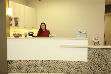 Reception area at Renton dentist Renton Smile Dentistry
