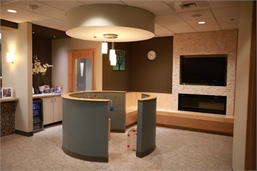 Well lit kids section at Renton dentist Renton Smile Dentistry