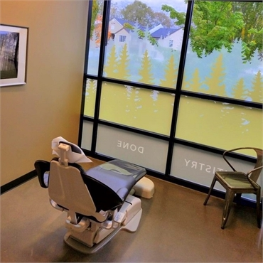 Dental chair at Timber Dental Bethany Portland