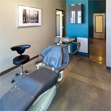 Dental chair at Timber Dental