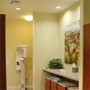 Hallway at cosmetic dentistry  in Concord CA Brighter Day Dental