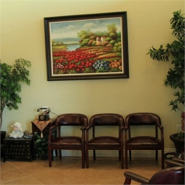 Waiting area at Brighter Day Dental Concord CA 94520