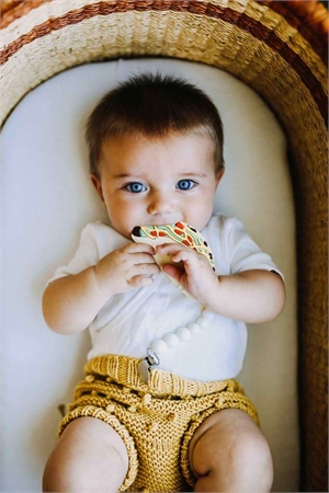Loulou Lollipop Taco Silicone Baby Teether