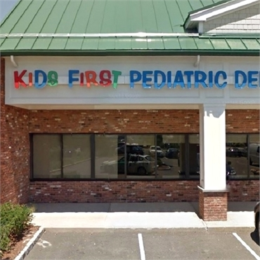 Front view of Kids First Pediatric Dentistry Norwalk CT 06851