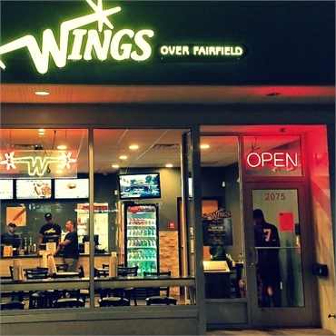 Wings Over Fairfield 3.3 miles to the north of Kids First Pediatric Dentistry Fairfield CT 06824