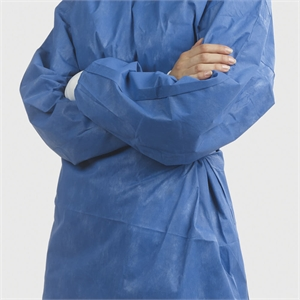 Surgical gown for dentists and medical surgeons