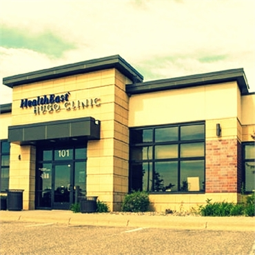 Healtheast Hugo Clinic is right next to Hugo MN dentist Sorenson Dental