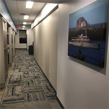 Hallway at Invisalign specialist Sorenson Dental Hugo MN 55038