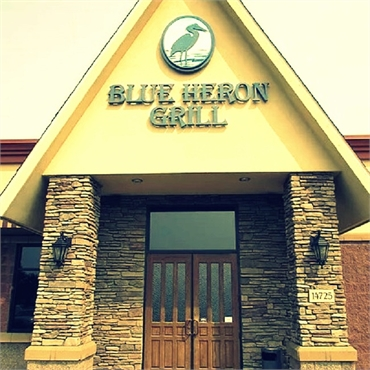 Blue Heron Grill few paces to the west of Hugo MN orthodontics Sorenson Dental