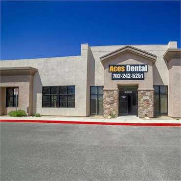 Front view of Aces Dental North Las Vegas NV 89032