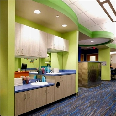 Interiors at Smile Shoppe Pediatric Dentistry Bentonville AR