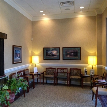 Waiting area at South Shreveport Dental