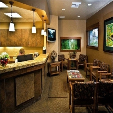 Waiting area at Woodland Family Dental Post Falls ID 83854
