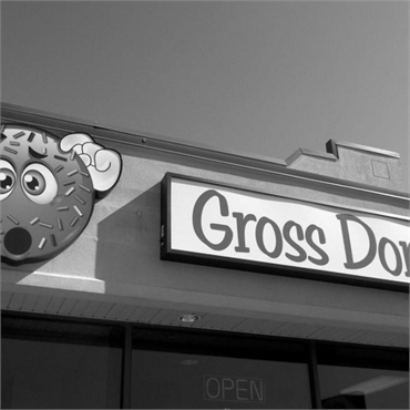 Gross Donuts short walk to the east of Post Falls dentist Woodland Family Dental