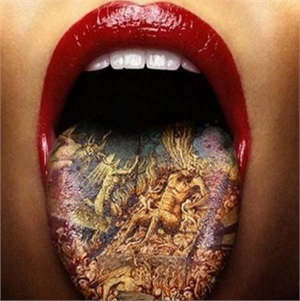 Oral health risks of tongue tattoos