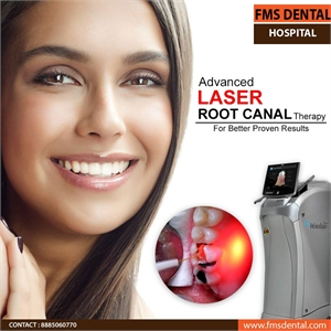 Best Laser Root Canal Clinic in India FMS Dental Hospital
