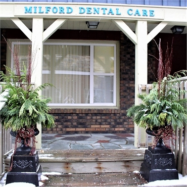 Entrance Milford Dental Care Highland MI 48357