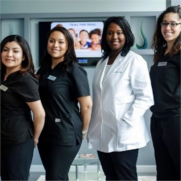The team at Comfort First Family Dental always ready to help