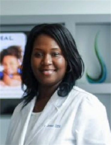 Falls Church dentist Dr. Miata Jones at Comfort First Family Dental
