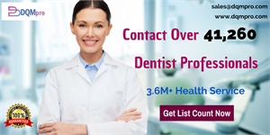 Our Dentists Email List is well researched and segmented, offered with the supplying of customization as per campaign and business requirements.