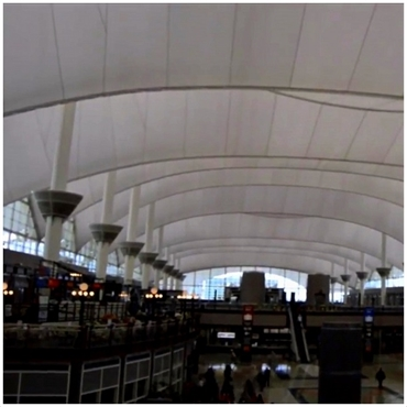 Denver International Airport 25 minutes drive to the north of Hampden Family Dental Denver CO 80224