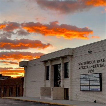 Magical skies at Hampden Family Dental Denver CO 80224