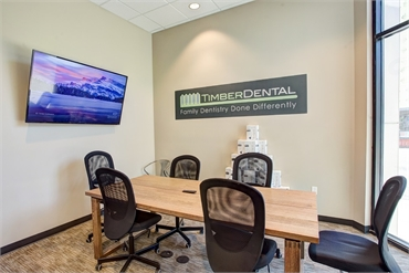Meeting room at Portland dentist Timber Dental East Burnside