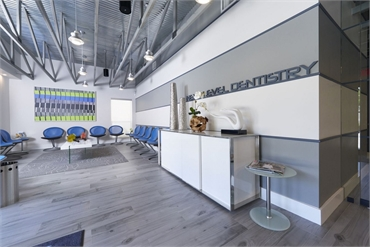Waiting area at Coral Springs dentist Dental Wellness Team