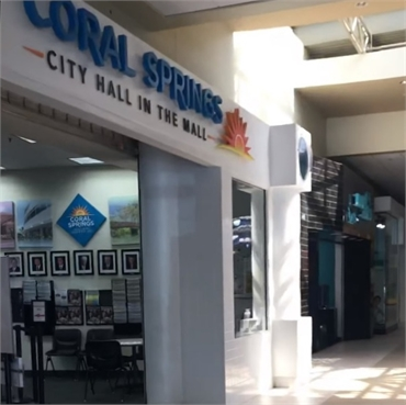 Coral Square 9 minutes to the south of Coral Springs dentist Dental Wellness Team