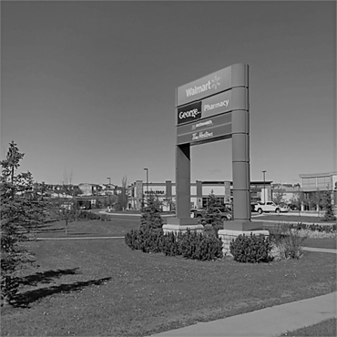 Walmart Supercentre few paces to the north of Sonata Dental Airdrie Alberta T4B3G4