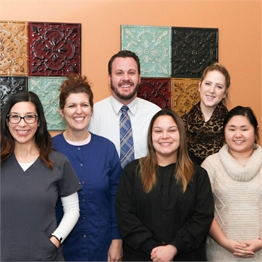 The dental team at Lincoln Center Dental Englewood CO 80112