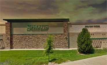 Sprouts Farmers Market few blocks to the south of dentist in Centennial CO Ridgeview Dental