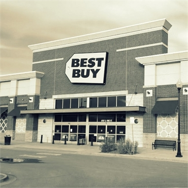 Best Buy 24 minutes drive to the west of the best dentist in Centennial CO Ridgeview Dental