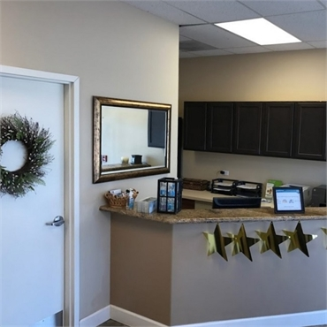 Reception area at dentist in Centennial CO Ridgeview Dental