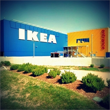 IKEA Centennial Home Furnishings 10 miles to the west of  Ridgeview Dental Centennial CO