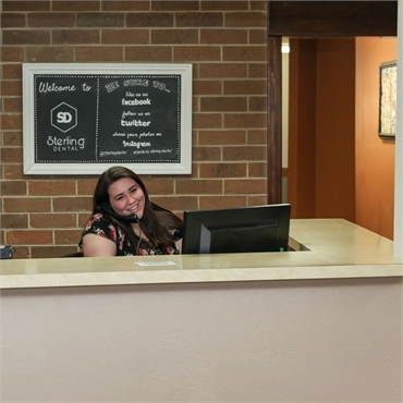 Friendly and helpful reception team at Sterling Dental Sterling CO 80751