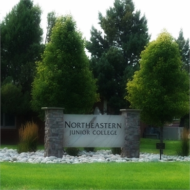 Northeastern Junior College 2.7 miles to the north of Sterling Dental