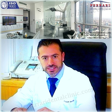 Dr.Habib Zarifeh head of CMC Dental Division certified Lumineers dentist