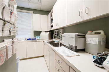 Sterilization area at  Reich Dental Center Roswell GA