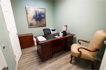 Consultation room at Reich Dental Center Roswell GA