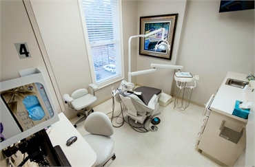 Operatory with state of the art dental equipment at Reich Dental Center Roswell GA