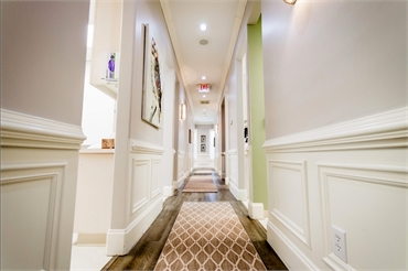 Hallway at Reich Dental Center Roswell GA