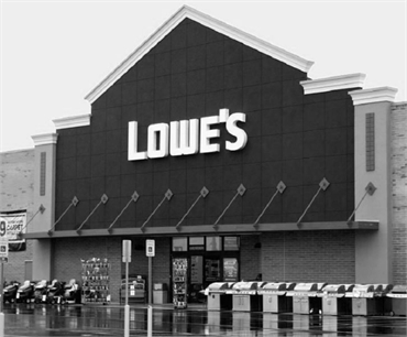 Lowe's Home Improvement 5 minutes to the east of Milford emergency dentist Shoreline Dental Care