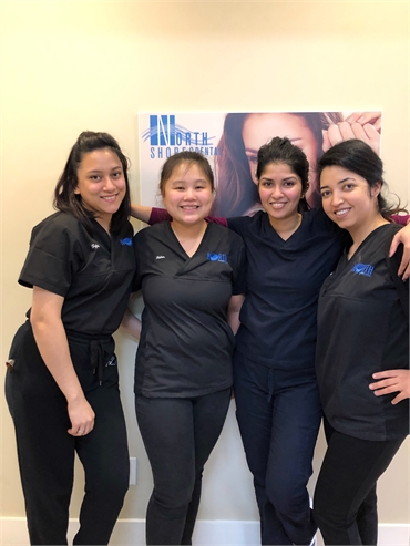 The team at Toronto dentist North Shores Dental